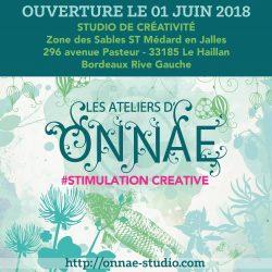 Ouverture les ateliers d'Onnae